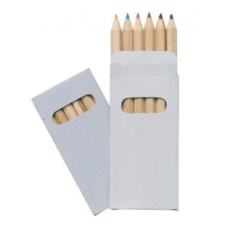 Lot de 6 crayons de couleurs