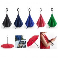 """Parapluie réversible """"Hamfrey"""" de coloris différents"""