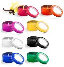"""Bougie """"Sioko"""" de coloris différents"""