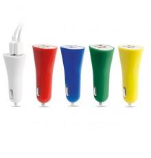 """Chargeur voiture USB """"Heyon"""" de coloris différents"""