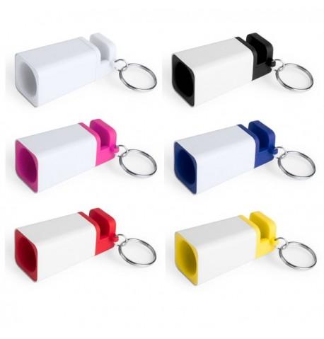 """Haut-parleurs porte-clés """"Holys"""" de coloris différents"""