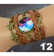 Bracelets globe galaxy en gros