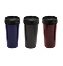 mug kamal en plastique couleurs bleue noire et rouge. Black Bedroom Furniture Sets. Home Design Ideas