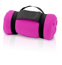 "Couverture ""Mountain"" fuchsia"