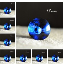 cabochon constelation bleu