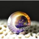 cabochon galaxy bleu violet