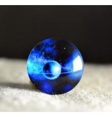 cabochon constelation bleu