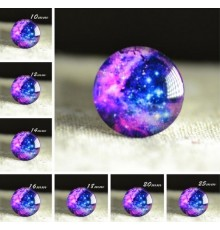 Cabochon en verre galaxie Constellation