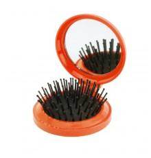 Brosse avec Miroir Glance Orange