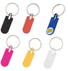 """Porte-clés """"Harper"""" de coloris différents"""