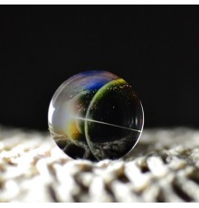 Cabochon galaxie alignement
