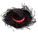 "Chapeau ""Filagarchado"" noir"