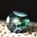 Cabochon en verre galaxie planete