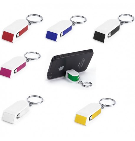 "Porte-clés support ""Satari"" de coloris différents"