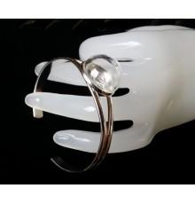 support bracelet cabochon ou globe en verre