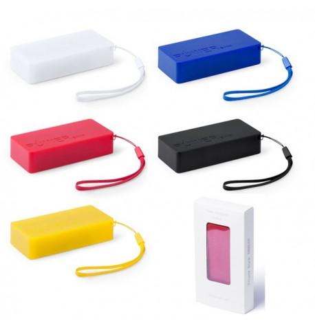 """Power bank """"Nibbler"""" de coloris différents"""