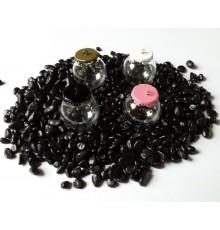 Pendentif Globe en verre à remplir et support coloré