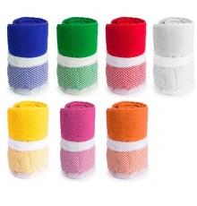 """Serviette absorbante """"Gymnasio"""" de coloris différents"""