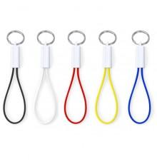 """Câble chargeur porte-clés """"Pirten"""" de coloris différents"""