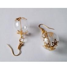 Boucles d'oreilles globe
