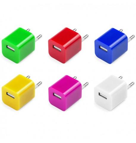 """Chargeur USB """"Radnar"""" de coloris différents"""