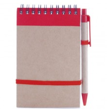 Cahier Ecocard Rouge