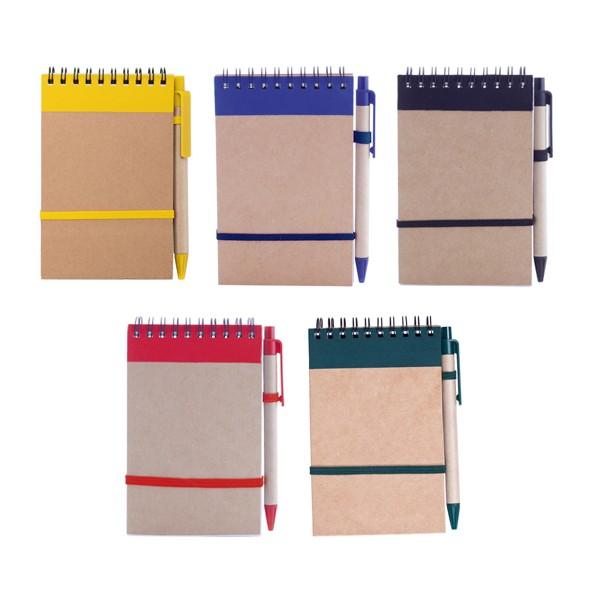 Cahier Ecocard en Carton Recyclé