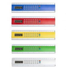 "Règle calculatrice ""Profex"" de coloris différents"