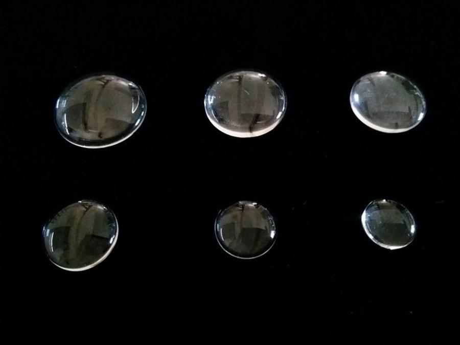 Cabochon simple en verre