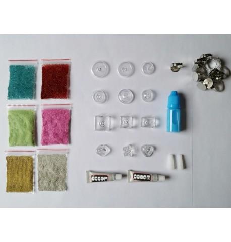"""Pack découverte """"bijoux en verre"""""""
