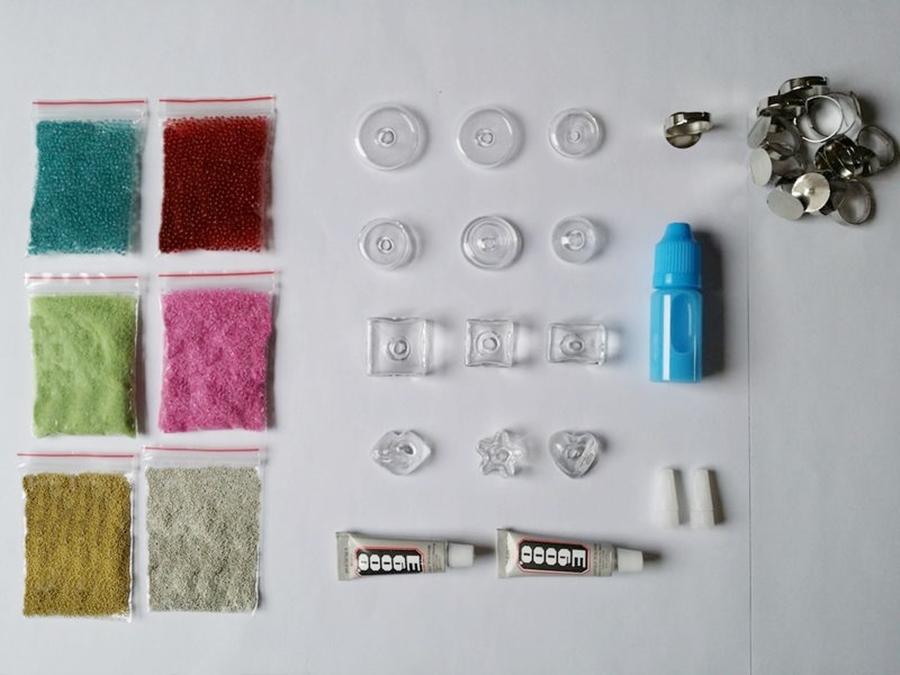 """Pack découverte """"bijoux en verre"""" - 12% de remise"""