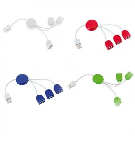 """Port USB """"Pod"""" de coloris différents"""