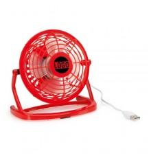 """Mini ventilateur """"Miclox"""" rouge"""