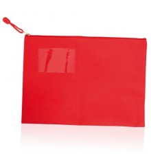"""Porte-documents """"Galba"""" rouge"""