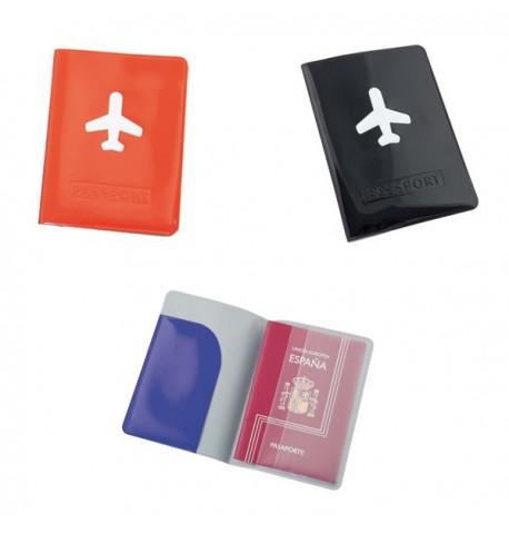 """Étui Passeport """"Klimba"""" de coloris différents"""