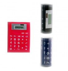 "Calculatrice Souple ""Roll Up"" Magnétique en PVC"