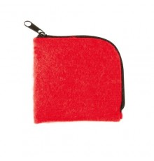 "Porte monnaie ""Lipak"" rouge"