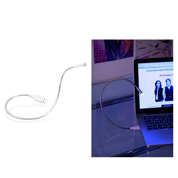 """Lampe Led Flexible USB """"Sucre"""" en Métal"""