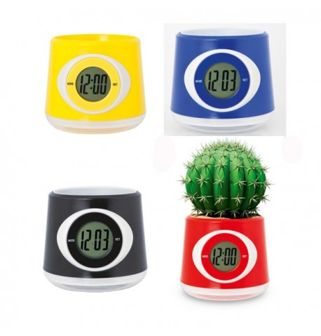 Horloge Pot Zelmo aux Différentes Couleurs