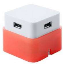"Port USB ""Dix"" rouge"