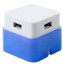 """Port USB """"Dix"""" bleu"""