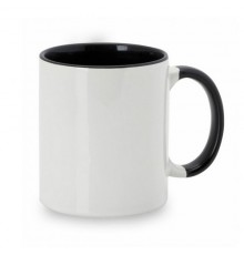 "Tasse sublimation ""Harnet"" noir"