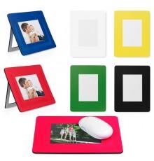"""Tapis souris porte photos """"Pictium"""" de coloris différents"""