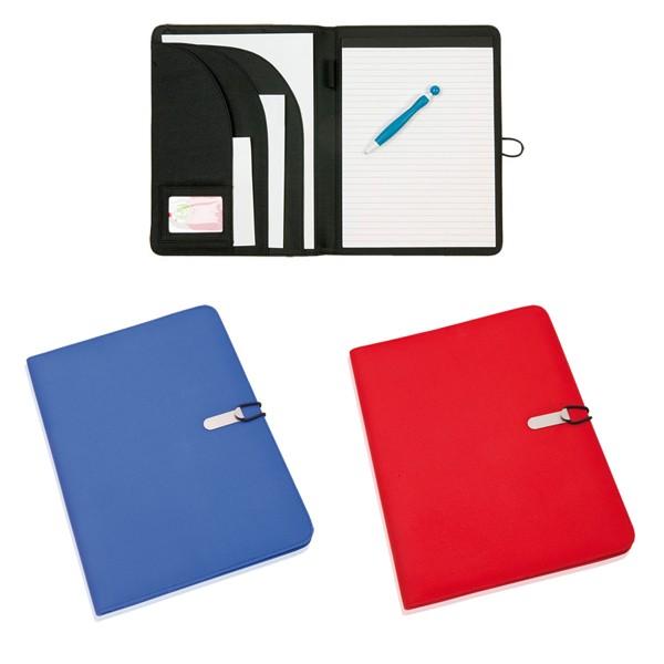 """Porte-Documents """"Neco"""" en Polyester et Microfibre"""