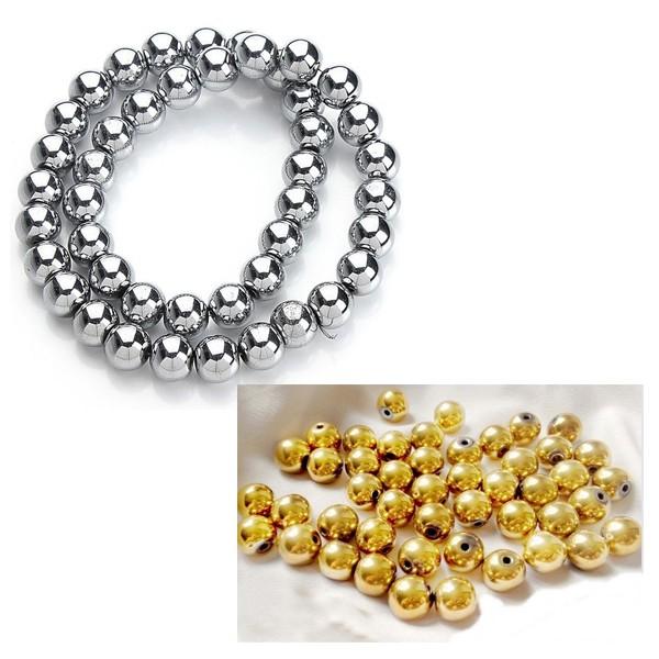 Perles Hématite de Coloris Différents