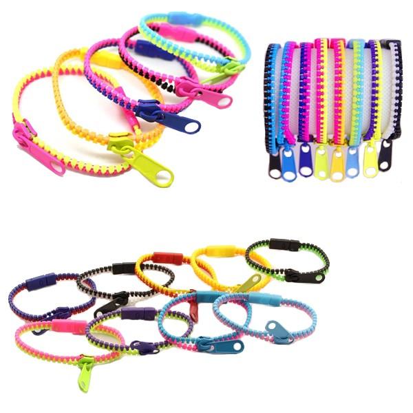 Bracelet Zip Fluo