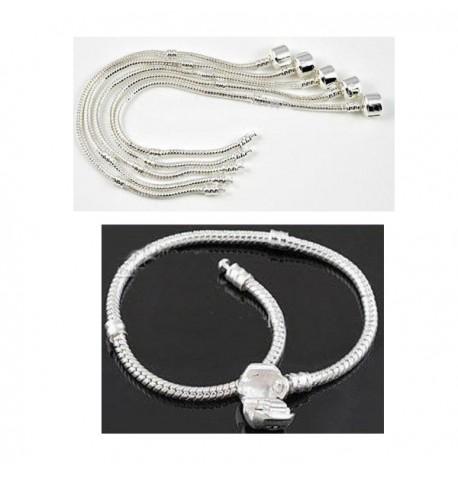 Bracelets fermoir pour charms