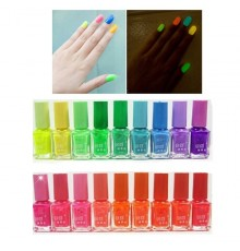 Vernis à Ongles Fluorescents
