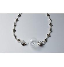 Bracelet Globe en Verre