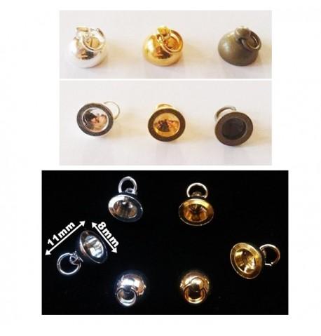 Support pendentif pour bijoux en verre